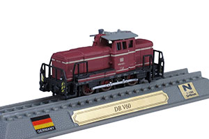 TRAIN DB V60 DIESEL LOCOMOTIVE GERMANY 1955 *ПОЕЗД