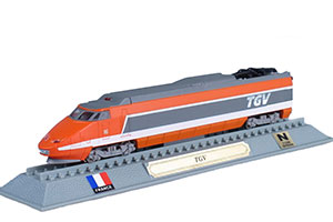 TRAIN TVG HIGH-SPEED TRAIN FRANCE 1978 *ПОЕЗД