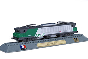 TRAIN SNCF CC 6500 ELECTRIC LOCOMOTIVE FRANCE 1969 *ПОЕЗД