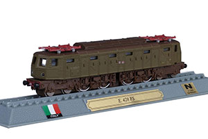 TRAIN E 428 FS 3.000V DC ELECTRIC LOCOMOTIVE ITALY 1934 *ПОЕЗД