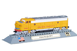 TRAIN UNION PACIFIC FP 7 DIESEL ELECTRIC LOCOMOTIVE USA 1949 *ПОЕЗД