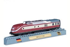 TRAIN DB VT-11.5 TEE DIESEL ELECTRIC LOCOMOTIVE GERMANY 1957 *ПОЕЗД
