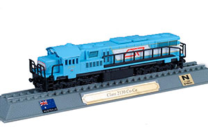 TRAIN C1655CLASS 2130 CO-CO DIESEL ELECTRIC LOCOMOTIVE AUSTRALIA 1970 *ПОЕЗД