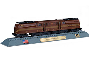 TRAIN PENNSYLVANIA RAILROADGG1 ELECTRIC LOCOMOTIVE USA 1934 *ПОЕЗД
