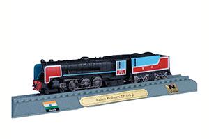 TRAIN INDIAN RAILWAYS YP 4-6-2 STEAM LOCOMOTIVE WHEEL ARRANGEMENT 231