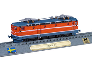 TRAIN RC 4 B-B ELECTRIC LOCOMOTIVE SWEDEN 1975 *ПОЕЗД