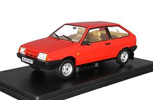 VAZ 2108 (USSR RUSSIAN CAR) LEGENDARY SOVIET CARS #14 RED | ВАЗ-2108 САМАРА ЛЕГЕНДАРНЫЕ СОВЕТСКИЕ АВТОМОБИЛИ #19