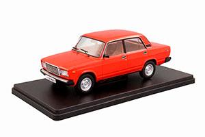 VAZ 2107 LADA (USSR RUSSIAN CAR) RED | ВАЗ-2107 ЖИГУЛИ ЛЕГЕНДАРНЫЕ СОВЕТСКИЕ АВТОМОБИЛИ #30