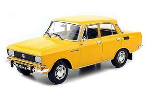 MOSKVICH AZLK 2140 (USSR RUSSIAN CAR) YELLOW | МОСКВИЧ 2140 АЗЛК ЛЕГЕНДАРНЫЕ СОВЕТСКИЕ АВТОМОБИЛИ #43
