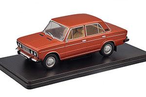 VAZ 2106 LADA (USSR RUSSIAN CAR) DARK RED   ВАЗ-2106 ЛЕГЕНДАРНЫЕ СОВЕТСКИЕ АВТОМОБИЛИ #46