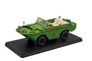 GAZ 46 AMFIBIA (USSR RUSSIAN CAR) GREEN | ГАЗ-46 АМФИБИЯ ЛЕГЕНДАРНЫЕ СОВЕТСКИЕ АВТОМОБИЛИ #53