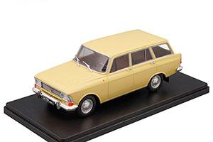 MOSKVICH 427 AZLK (USSR RUSSIAN CAR) BEIGE | МОСКВИЧ 427 ЛЕГЕНДАРНЫЕ СОВЕТСКИЕ АВТОМОБИЛИ #56