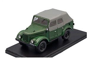 GAZ 69A TENT (USSR RUSSIAN CAR) GREEN | ГАЗ-69А ЛЕГЕНДАРНЫЕ СОВЕТСКИЕ АВТОМОБИЛИ #59