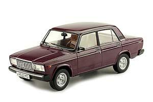 VAZ 21072 LADA (USSR RUSSIAN) DARK RED | ВАЗ 21072 ЖИГУЛИ ЛЕГЕНДАРНЫЕ СОВЕТСКИЕ АВТОМОБИЛИ #69