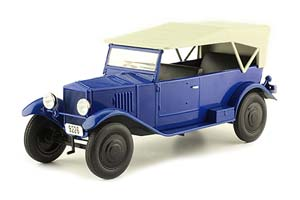 NAMI-1 (USSR RUSSIAN) 1925-1931 BLUE | НАМИ-1 ЛЕГЕНДАРНЫЕ СОВЕТСКИЕ АВТОМОБИЛИ #70