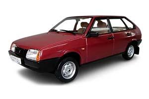 VAZ 21093 LADA SPUTNIK (USSR RUSSIAN) 1990 DARK RED | ВАЗ 21093 СПУТНИК ДЛИННОЕ КРЫЛО ЛЕГЕНДАРНЫЕ СОВЕТСКИЕ АВТОМОБИЛИ #74