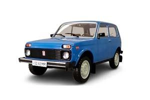 VAZ 21211 LADA NIVA (USSR RUSSIAN) 1977-1987 BLUE | ВАЗ 21211 НИВА ЛЕГЕНДАРНЫЕ СОВЕТСКИЕ АВТОМОБИЛИ #76