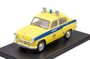 MOSKVICH 407 POLICE (USSR RUSSIAN) | МОСКВИЧ 407 МИЛИЦИЯ ЛЕГЕНДАРНЫЕ АВТОМОБИЛИ #77 *МОСКВИЧ