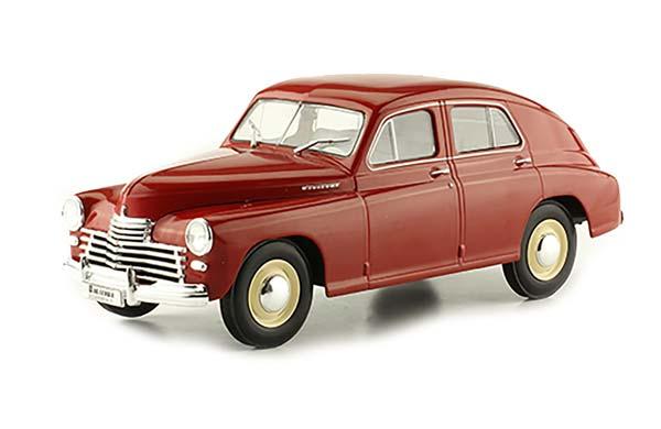 WARSZAWA M20 1946-1958 DARK RED   ВАРШАВА (ПОБЕДА) M20 ЛЕГЕНДАРНЫЕ СОВЕТСКИЕ АВТОМОБИЛИ #86