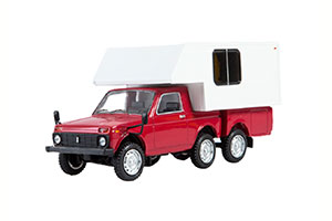 VAZ 2121 NIVA CAMPER (USSR RUSSIA) RED/WHITE | ВАЗ 2121