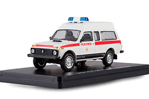 VAZ 2131-05 NIVA AMBULANCE (USSR RUSSIA) WHITE| ВАЗ 2131-05 НИВА