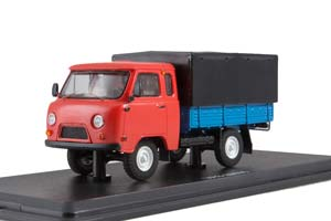 UAZ 39095 (USSR RUSSIA) RED/BLUE | УАЗ-39095