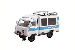 UAZ-T12.02 ROAD POLICE (USSR RUSSIA) WHITE/BLUE | УАЗ-Т12.02 ГАИ *УАЗ УЛЬЯНОВСКИЙ АВТОЗАВОД