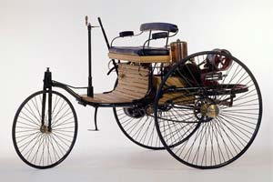 MERCEDES BENZ DIMLER PATENT MOTORWAGEN 1886 BLACK CMC