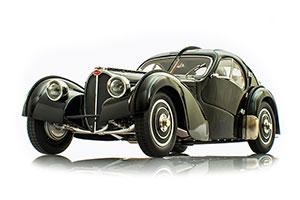 BUGATTI TYPE 57 SC ATLANTIC 1935 BLACK