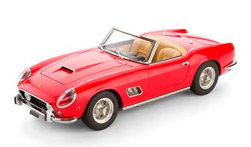 FERRARI 250 GT SWB CALIFORNIA SPYDER 1961 RED LIMITED EDITION 2500 PCS. *ФЕРРАРИ ФЕРАРИ ФИРАРИ ФИРРАРИ