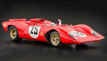 Ferrari 312P Spyder Sebring #25 Amon/Andretti 1969