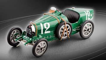 BUGATTI T35 GREAT BRITAIN 1920 LIMITED EDITION 2000 PCS.