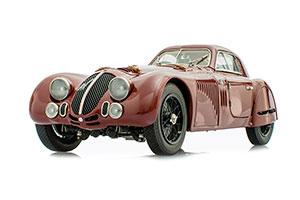 Alfa Romeo 8C 2900 B Speciale Touring Coupe 1938 Dark Red
