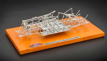 MASERATI TELAIO TIPO 61 BIRDCAGE CHASSIS 1960 SILVER *МАЗЕРАТИ МАСЕРАТИ