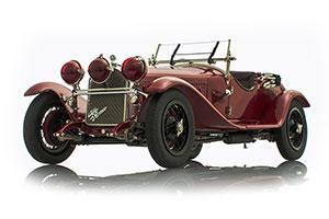 ALFA ROMEO 6C 1750 GS 1930 DARK RED