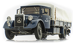 MERCEDES TRUCK RACING TRANSPORTER LO 2750 1934-38 BLUE *BENZ BENC МЕРСЕДЕС БЕНС МЕРСИДЕС МЕРСЕДЕЗ БЕНЦ