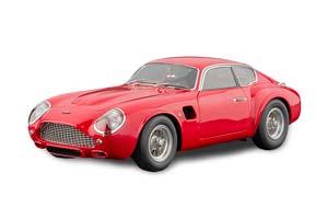 ASTON MARTIN DB4 GT ZAGATO 1961 RED LIMITED EDITION 1000 PCS. *АСТОН МАРТИН ЭСТОН