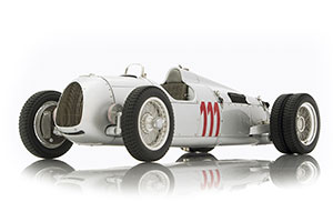 Auto Union Type C Hill Climb Version №111 Schau ins Land 1937 Silver Limited Edition 1500 pcs.
