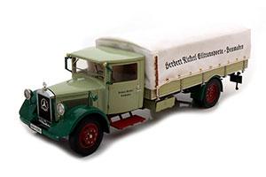 MERCEDES LO 2750 1934-38 TRUCK WITH TARPAULIN