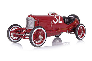 MERCEDES-BENZ TARGA FLORIO 1924 RED #32 CHRISTIAN LAUTENSCHLAGER/WILHELM TRAUB 2ND PLACE LIMITED EDITION 1000 PCS.
