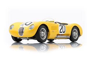 JAGUAR C-TYPE 1953 YELLOW 24H FRANCE JAGUAR RACING TEAM #20 ROGER LAURENT/CHARLES DE TORNACO LIMITED EDITION 1000 PCS.