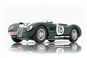 JAGUAR C-TYPE 1953 BRITISH RACING GREEN 24H FRANCE WINNER #18 TONY ROLT/DUNCAN HAMILTON JAGUAR RACING TEAM LIMITED EDITION 1500 PCS.