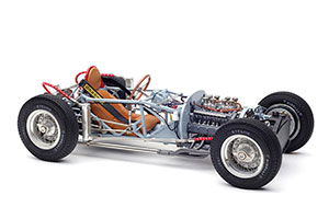LANCIA D50 1955 ROLLING CHASSIS INCLUDING BASE PLATE LIMITED EDITION 1000 PCS. *ЛЯНЧА ЛАНЧА