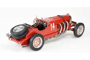 MERCEDES SSK 1930 RED WITHOUT FENDER