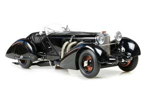 MERCEDES SSK CHASSIS 36038 BLACK PRINCE 1934 BLACK