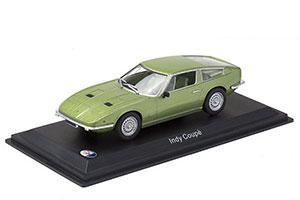 MASERATI INDY COUPE 1969 LIGHT GREEN *МАЗЕРАТИ МАСЕРАТИ