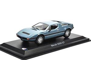 MASERATI MERAK 2000 GT 1977 METALLIC BLUE *МАЗЕРАТИ МАСЕРАТИ