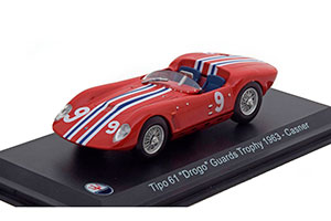 MASERATI TIPO 61 DROGO #9 CASNER GUARDS TROPHY 1963 *МАЗЕРАТИ МАСЕРАТИ