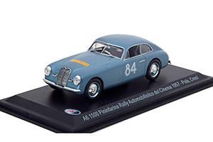 MASERATI A6 1500 PININFARINA #84 RALLY AUTOMOBILISTICO DEL CINEMA 1957 *МАЗЕРАТИ МАСЕРАТИ