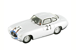 MERCEDES W196 300 SL #21 LANG/RIESS WINNER LE MANS 1952